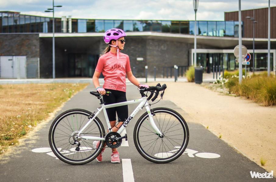 Frog Bikes 70, un vélo route enfant polyvalent